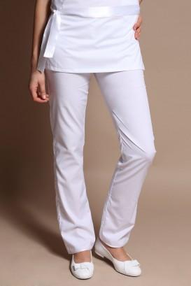 Pantalon LOTUS blanc