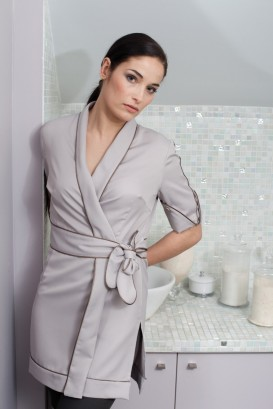 Kimono TIAREI light gray