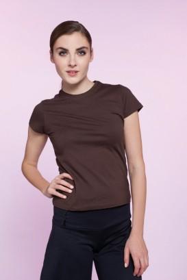T-Shirt MAYA chocolat