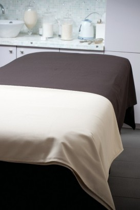 Drap de table MOOREA chocolat