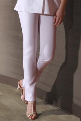 Pantalon Savane Blanc
