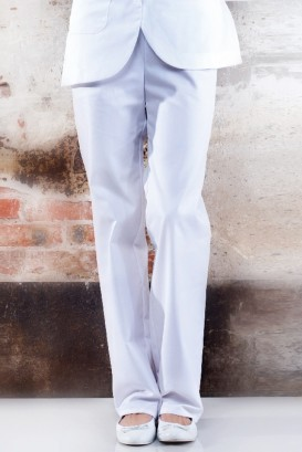 Pantalon Beverly Blanc