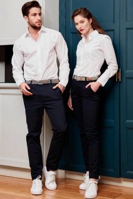 Pantalon chino ADAM Noir