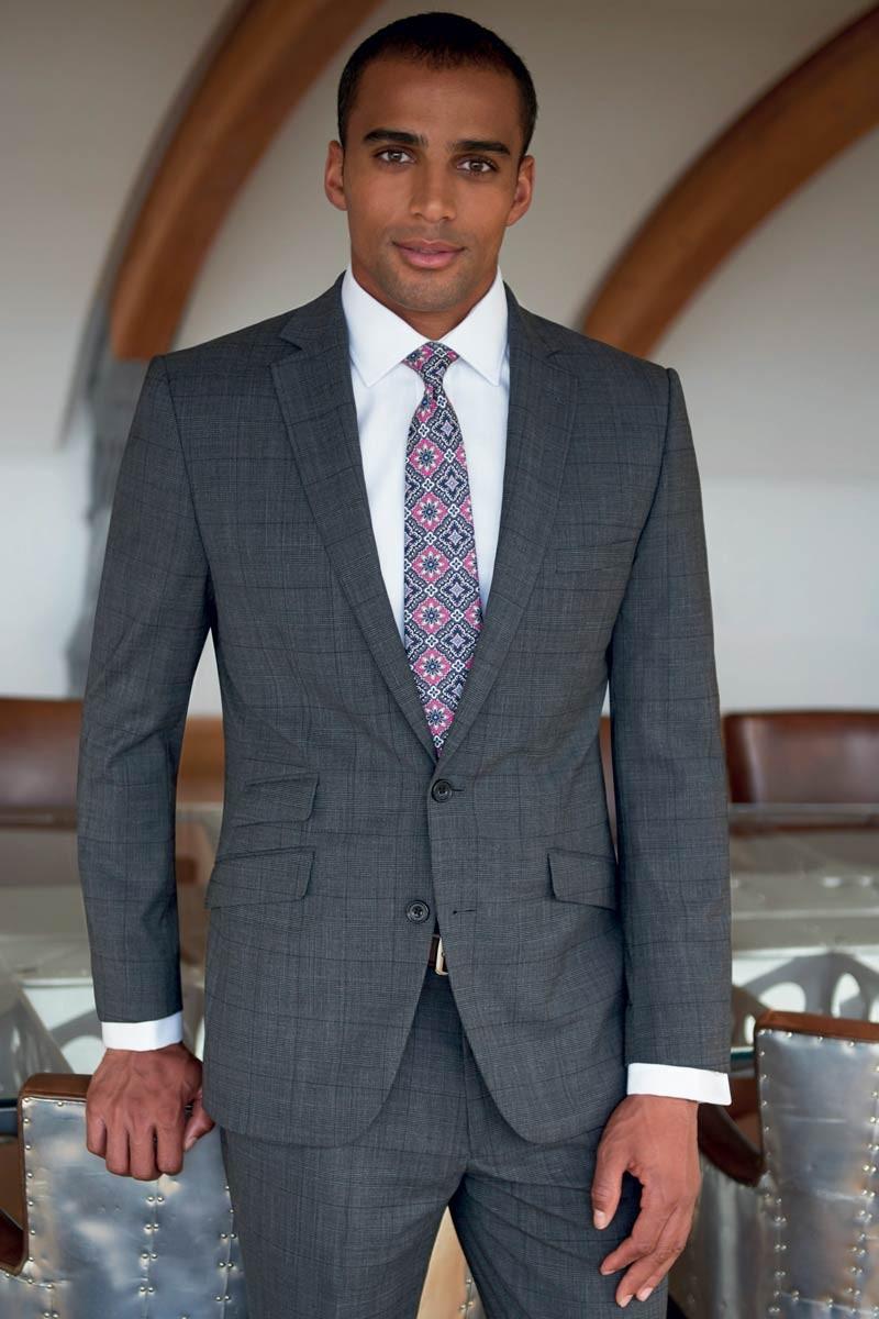 Veste Cassino prince de Galles gris
