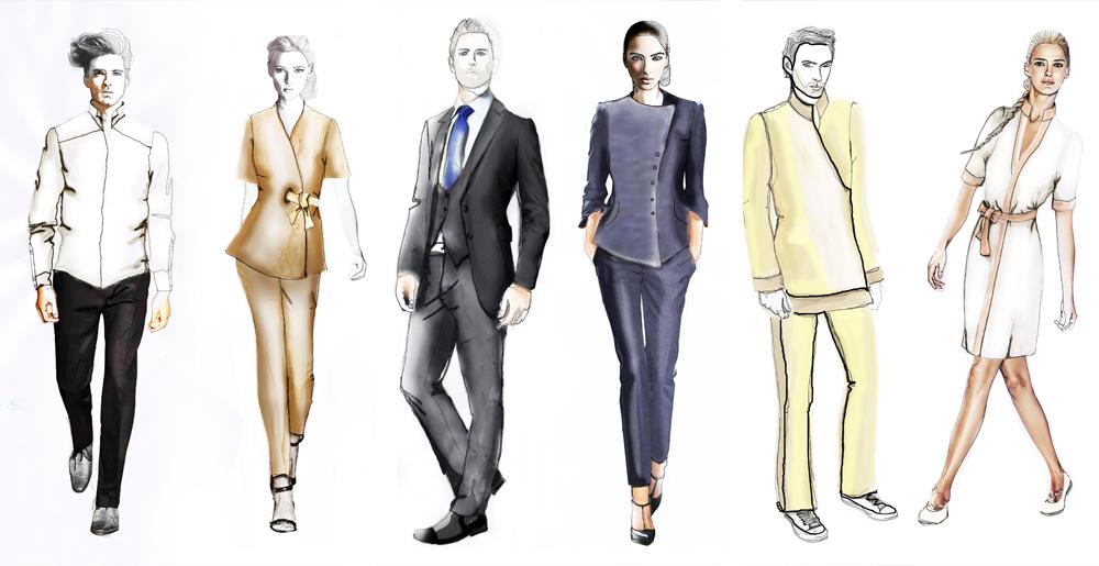 Personnalisation vêtements professionnels - Beauty street