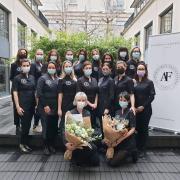 L' @academiedesfacialistes fait confiance à Beauty Street pour habiller ses futures diplômées 👩🎓  Découvrez toutes nos tenues dédiées aux métiers de l'esthétique sur notre site internet ⬇ lien dans la bio @beautystreetparis